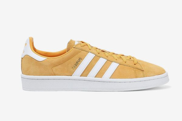 Adidas Originals Campus Leather-appliquéd Suede Sneakers