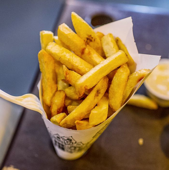 Don't you want a beer with your fries?