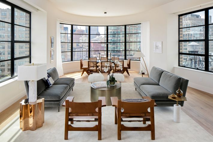 Tour an apartment in a stunning new soho building