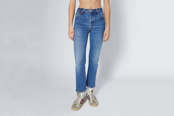 Re/Done Levi's High Rise Ankle Crop