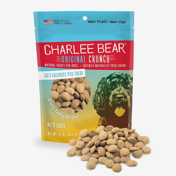 Charlee Bear Original Crunch Natural Dog Treats