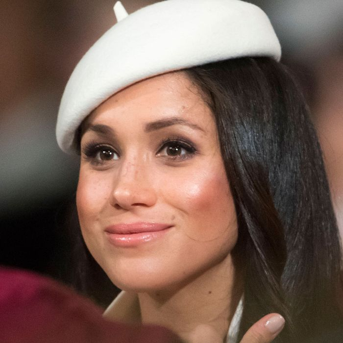 Meghan Markle, a person with great skin.