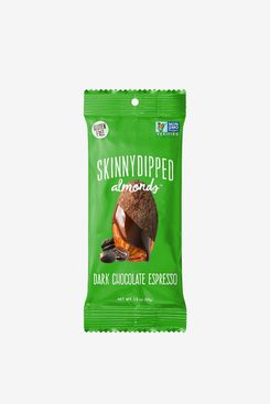 SKINNYDIPPED Dark Chocolate Espresso Covered Almonds