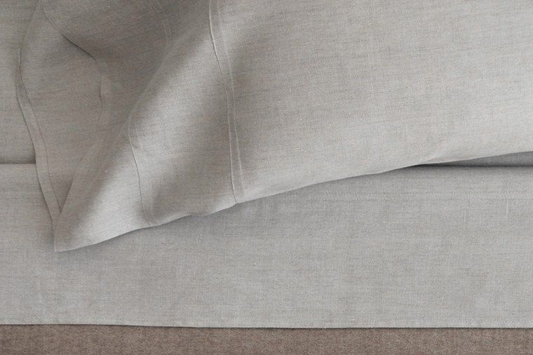 Area Home Gray Linen Sheets