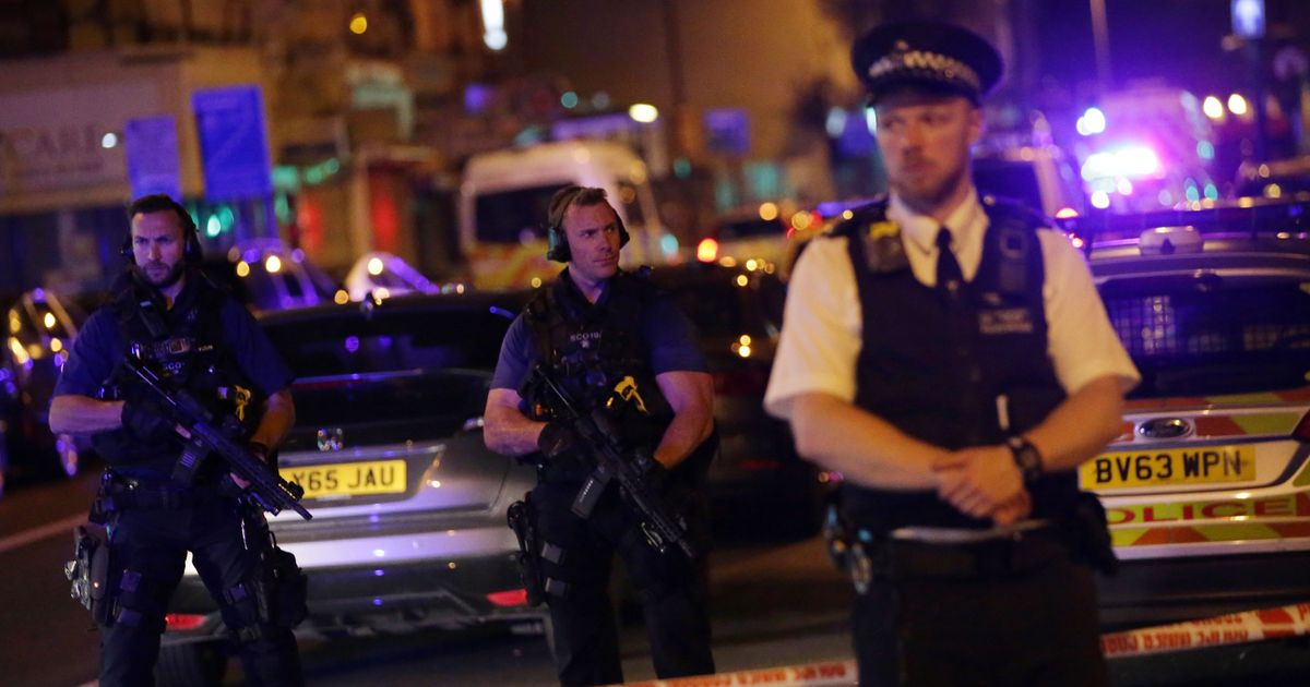 Van Rams Worshippers in Terror Attack Near London Mosque