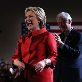 Hillary Clinton Holds Nevada Caucus Day Event
