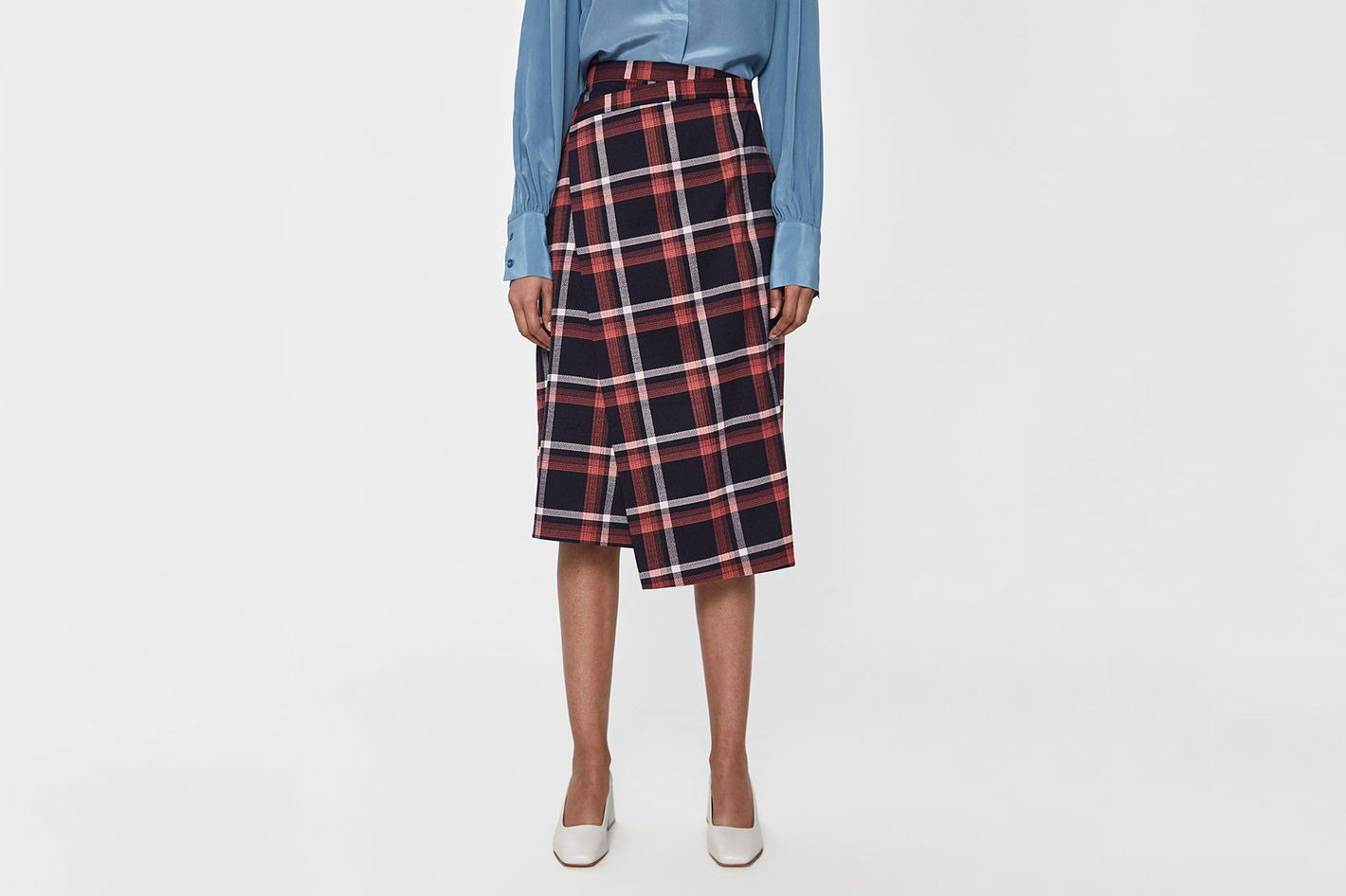 Just Female Charles Checked Skirt