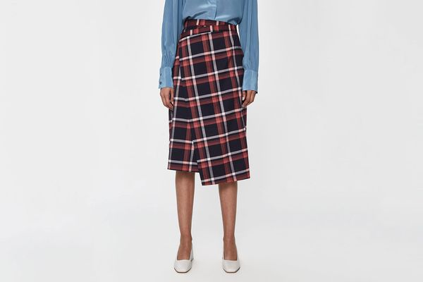 Just Female Charles Checked Skirt