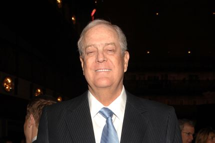 NEW YORK, NY - APRIL 21:  David Koch attends the 2011 New York City Opera Spring Gala at David H. Koch Theater, Lincoln Center on April 21, 2011 in New York City.  (Photo by Marc Stamas/Getty Images)