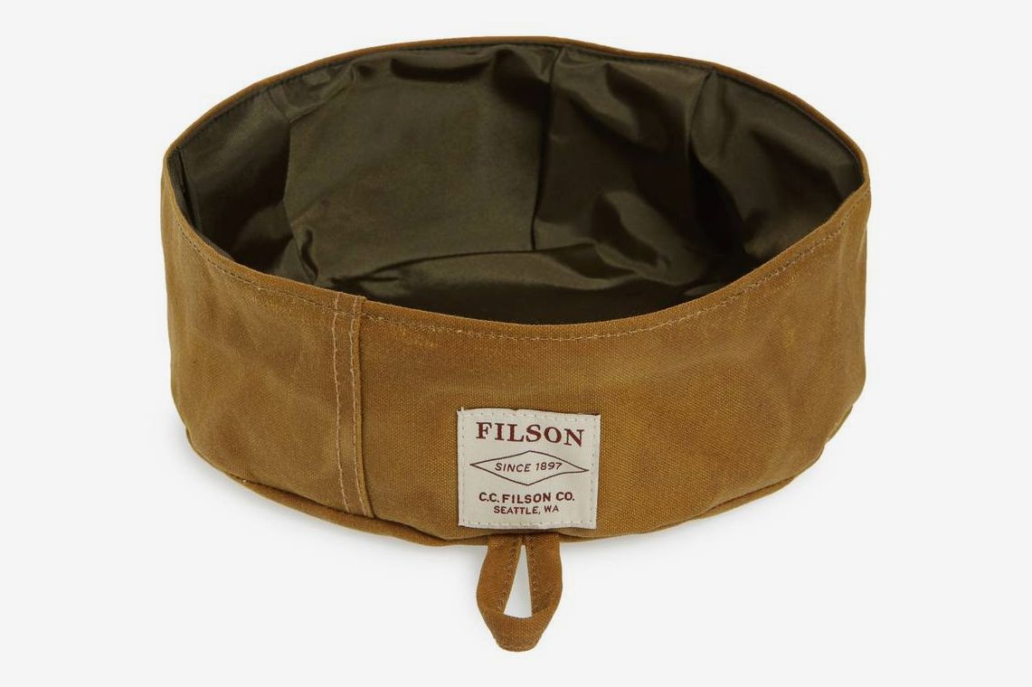 Filson Short Collapsible Dog Bowl