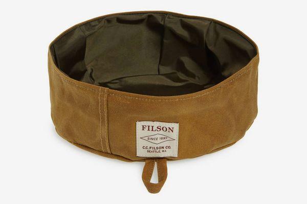 Filson Short Collapsible Dog Bowl