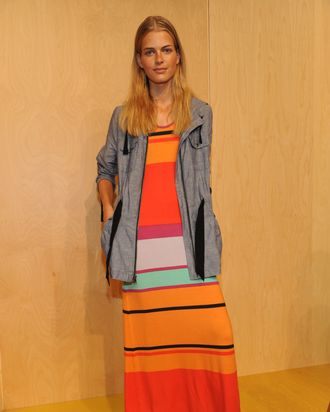 A look from Gap's spring 2012 presentation.