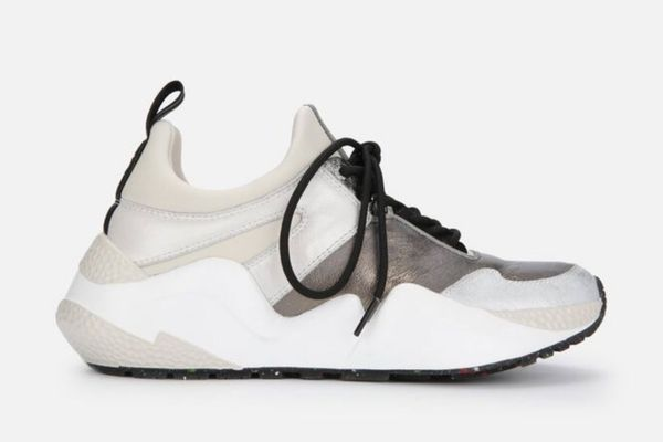 Kenneth Cole Maddox Resource Jogger Sneaker in Metallic Combo