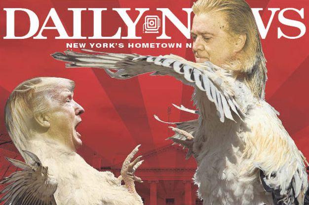 Steve Bannon and Donald Trump