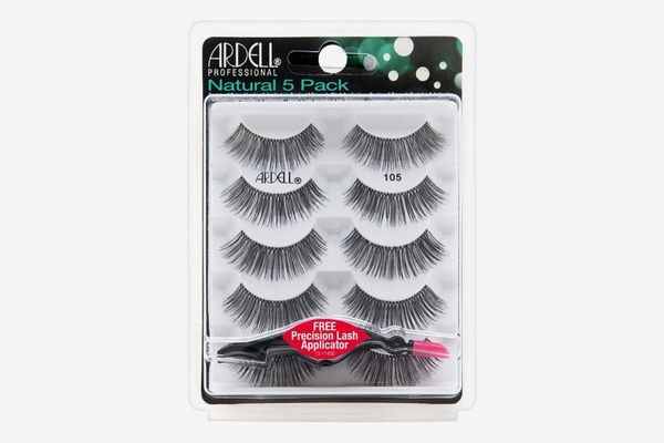 Ardell Natural Lashes 5-Pack and Precision Lash Applicator