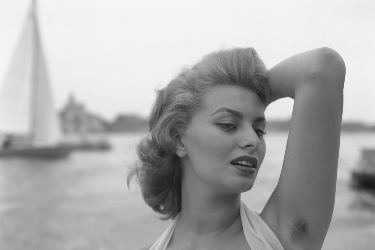 Sophia loren armpits are not