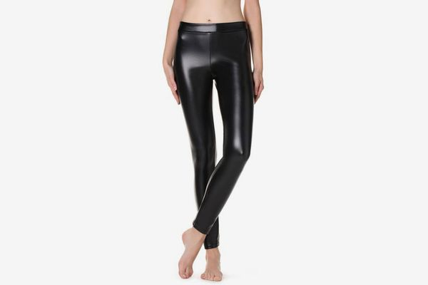 Calzedonia Thermal Leather-Effect Leggings