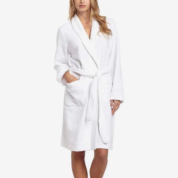 Hanro Women's Delight Short Wrap Robe