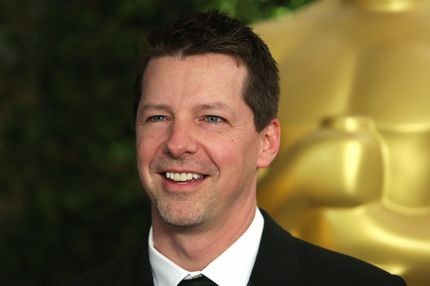Actor Sean Hayes arrives at the 2012 Governors Awards at the Ray Dolby Ballroom at Hollywood & Highland Center in Hollywood, California on December 1, 2012. The Board of Governors of the Academy of Motion Picture Arts and Sciences (AMPAS) is presenting the Jean Hersholt Humanitarian Award to Jeffery Katzenberg, and Honorary Awards to stunt performer Hal Needham, documentarian D.A. Pennebaker and arts advocate George Stevens Jr.at the inaugural Governors Awards event.  AFP PHOTO / Krista KENNELL        (Photo credit should read Krista Kennell/AFP/Getty Images)