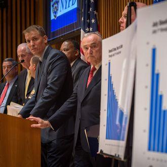 NYPD Commissioner Bratton Discusses Crime Stats