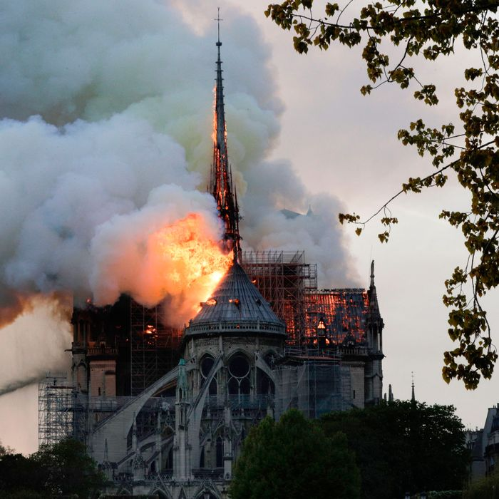 3b8fa26f Notre-Dame Cathedral Will Survive Fire With Major Structural Losses