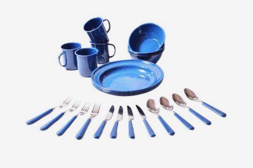 Ozark Trail 24-Piece Dinnerware Set