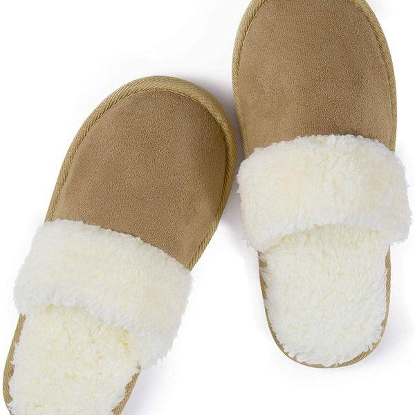 riemot Memory Foam Fluffy Slippers