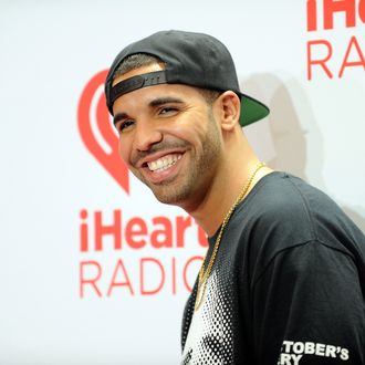 LAS VEGAS, NV - SEPTEMBER 21: Singer Drake attends the iHeartRadio Music Festival at the MGM Grand Garden Arena on September 21, 2013 in Las Vegas, Nevada. (Photo by David Becker/Getty Images for Clear Channel)