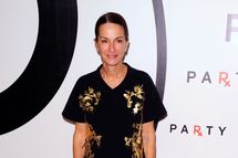Designer Cynthia Rowley attends the annual RxART PARTY!