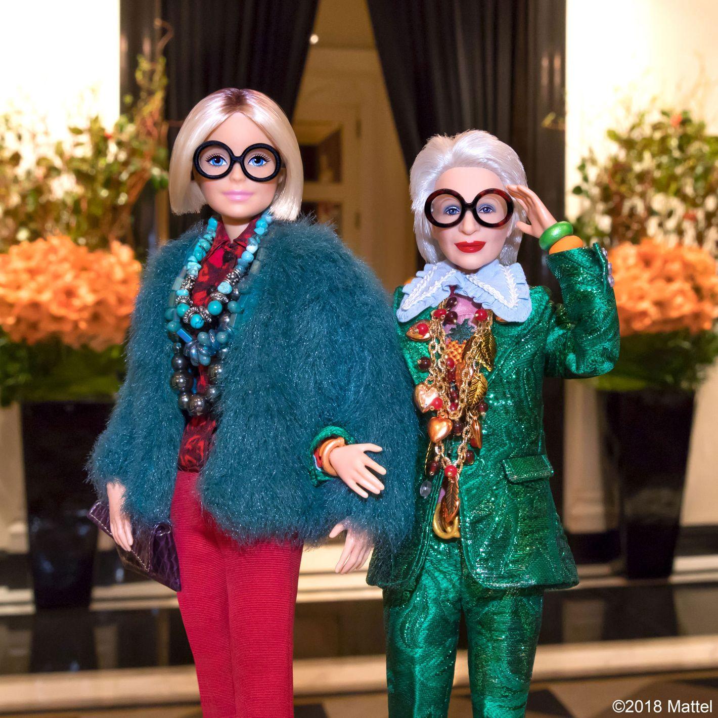 Style Icon Iris Apfel Gets the Barbie Treatment