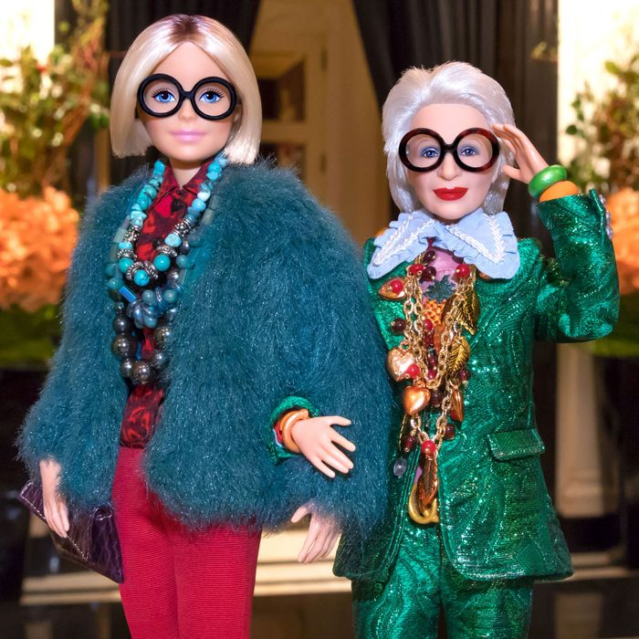 73d190d66bdb0 96-Year-Old Style Icon Iris Apfel Gets Her Own Barbie