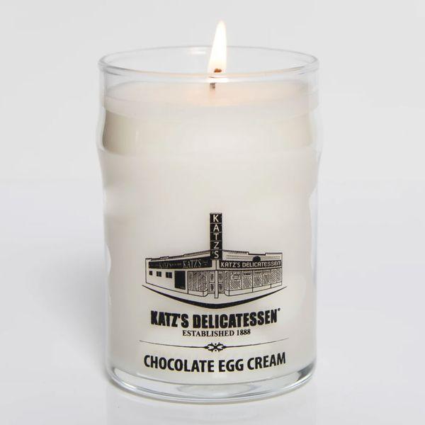 Katz's Deli Chocolate Egg Cream Scented Candle