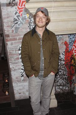 """NEW YORK, NY - NOVEMBER 11:  Actor Alfie Allen attends the FilmDistrict & Complex Media with The Cinema Society & Grey Goose screening of """"Oldboy"""" after party at TAO Downtown on November 11, 2013 in New York City.  (Photo by Jim Spellman/WireImage)"""