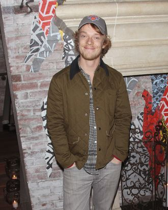 NEW YORK, NY - NOVEMBER 11: Actor Alfie Allen attends the FilmDistrict & Complex Media with The Cinema Society & Grey Goose screening of