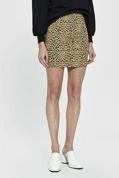 Farrow Mindy Cheetah Print Mini Skirt