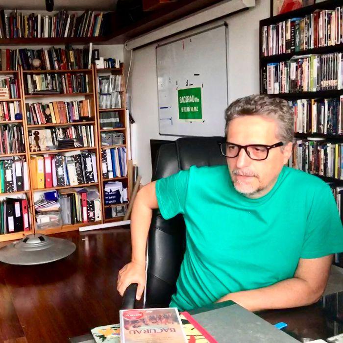 Kleber Mendonça Filho at home in Recife