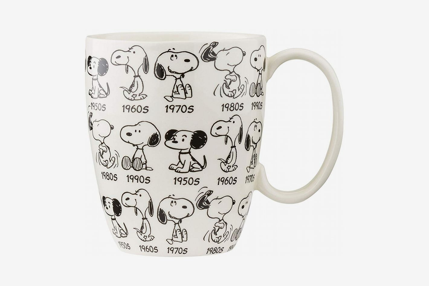 Department 56 Peanuts Anniversary Snoopy Mug