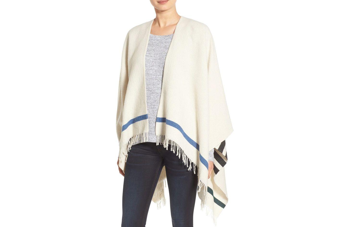 Rag & Bone Ines Wool Blend Poncho