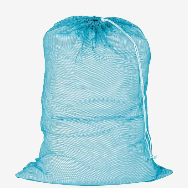 Honey-Can-Do Mesh Laundry Bag with Drawstring