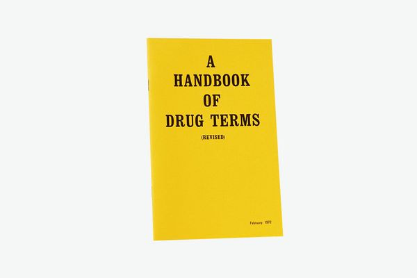 '70s Drug Dictionary