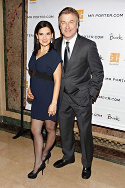 Hilaria Baldwin and Alec Baldwin attend the Guild Hall: Academy Of The Arts Lifetime Achievement Awards at The Plaza Hotel on March 4, 2013 in New York City.