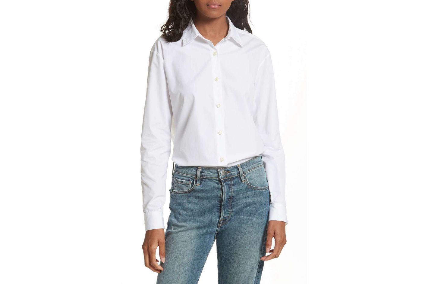 Kule The Hutton Cotton Poplin Shirt