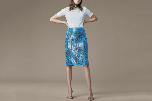 Diane von Furstenberg Tailored Pencil Skirt
