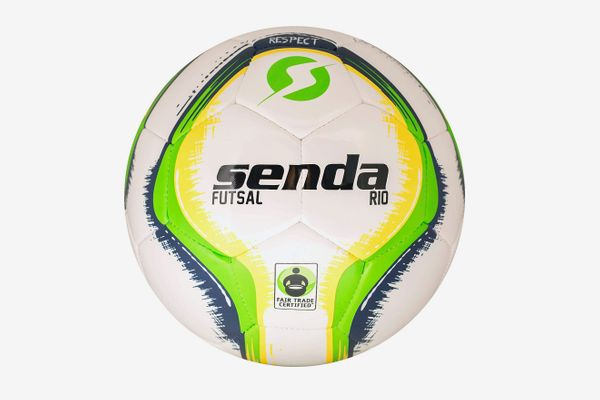 Senda Rio Premium Training Low-Bounce Futsal Ball, Fair Trade Certified