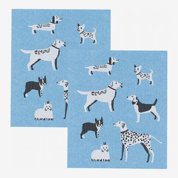 Now Designs Swedish Dishcloths Dog Days Print