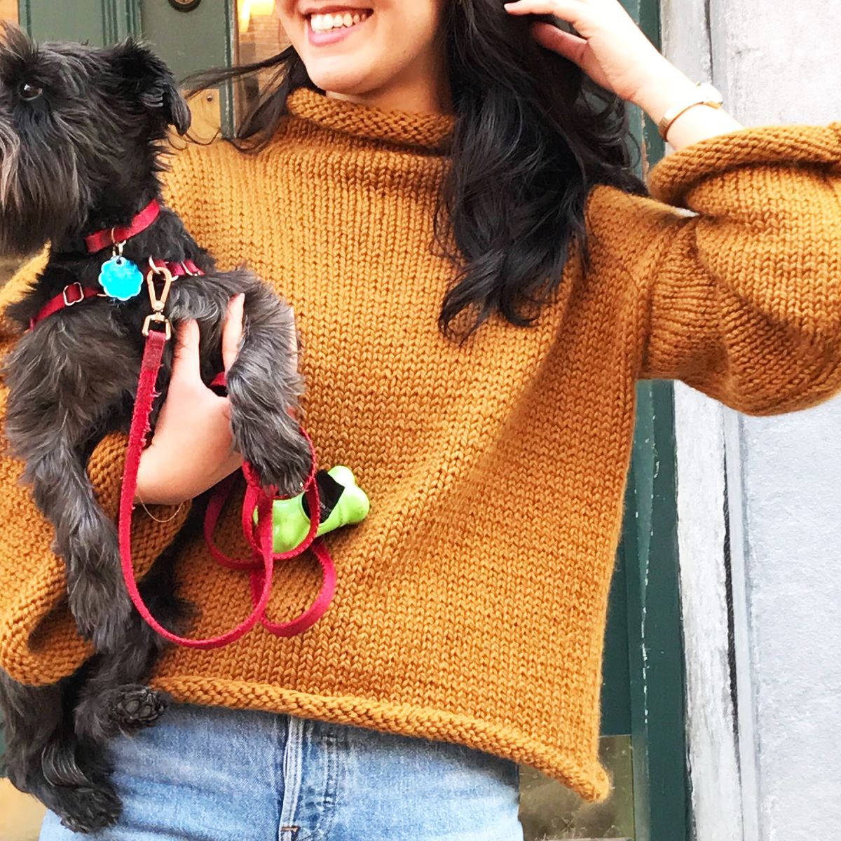 Wool And The Gang Audrey Cropped Sweater Knitting Kit Review