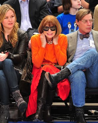 Anna Wintour (and Julia Stiles).