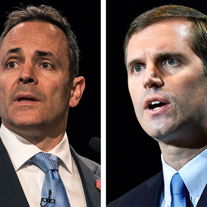Bevin and Beshear slug it out in the Bluegrass State.
