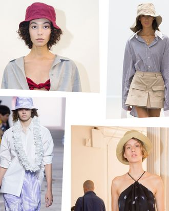 cda09b53824 Will summer  18 be the moment of the bucket hat  If New York Fashion Week  is any indication