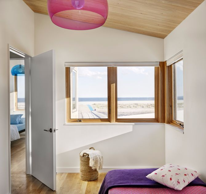 A Modern Beach House in Breezy Point, 5 Years After Sandy on